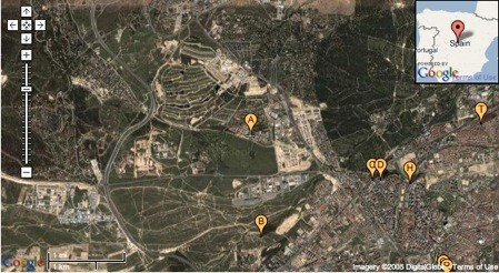 mapa Fon Prado de Somosaguas