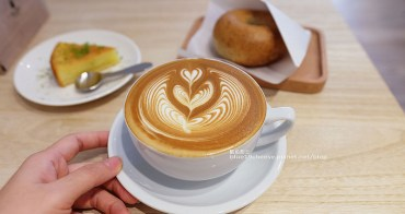 【台中南屯】J.W. Cafe-放棄百萬年薪工程師的漂亮拉花拿鐵.甜點推薦乳酪蛋糕和貝果.近清真恩德元餃子館