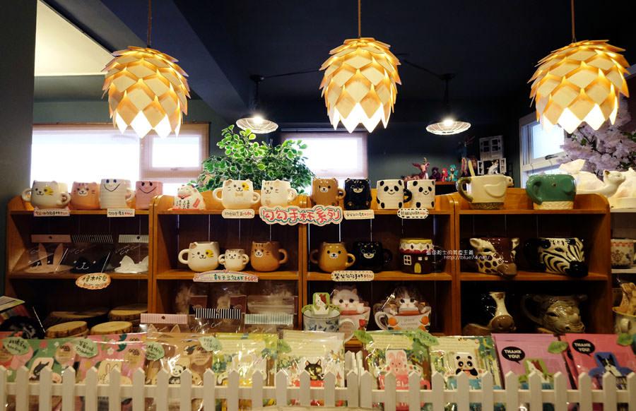 20170905025901 93 - 小毛日子雜貨店-在可愛動物森林療癒雜貨中喝咖啡.台中勤美誠品綠園道旁