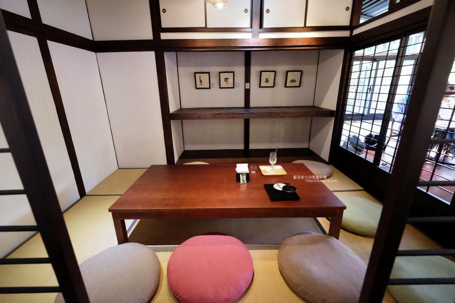20170910004119 3 - 櫟舍文學餐廳-台中文學館內日式建築餐廳.百年老榕樹下.可以從早餐午餐到下午茶甜點冰品
