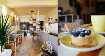 台中梧棲│Yocano coffee洋記豆行-低調外觀自在空間,咖啡茶飲品、時令甜點,近梧棲新天地