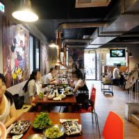 台中西區│菜豚屋台中精誠店-日系韓風烤肉專門店,生菜無限續,朋友歡樂聚會最適合