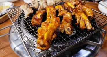 釜山美食│釜山烤肋排부산쪽쪽갈비-西面推薦必吃人氣美食,直接拿起來啃,方便又過癮
