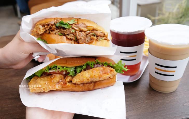 20190503111410 90 - 早伴漢堡Zaoban Burger-早伴早餐推出速食新風格,台中美術館商圈美食推薦