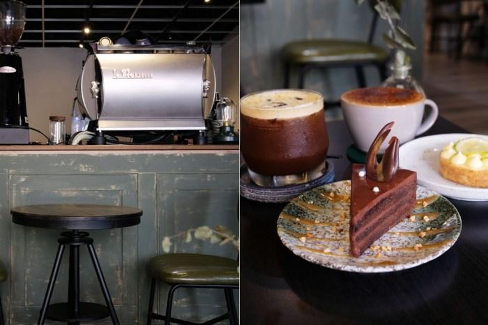 台中北區│珘墨咖啡-輕鬆自在像是週末般的休假時光,供應咖啡、甜點和鬆餅