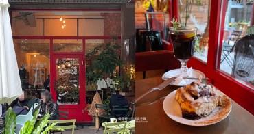 台中西區│拿翹咖啡-勤美和廣三sogo商圈隱藏版加上深夜咖啡甜點店