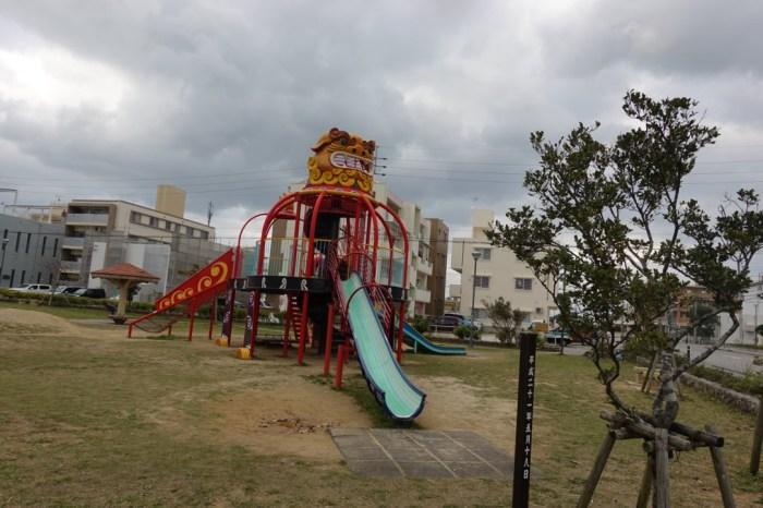 『2017沖繩』沖繩的吉祥物公園-東浜シーサー公園(風獅爺公園)