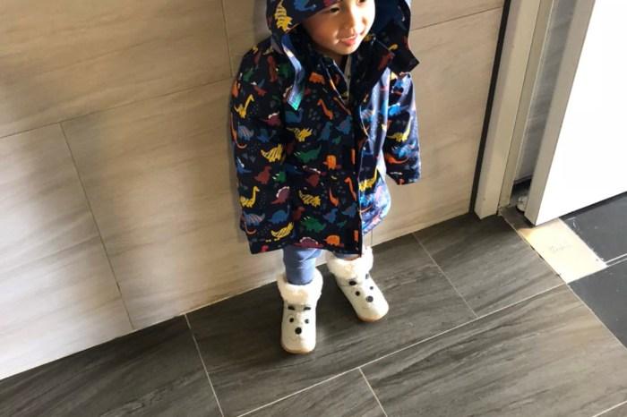 『保暖團』冬天保暖必備穿搭JoJo Maman Bébé防雨外套&shooshoos 幼童雪靴