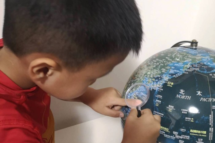 【育兒】孩子的世界觀,學齡孩子的必備-好美的台灣製造Skyglobe 12吋地球儀