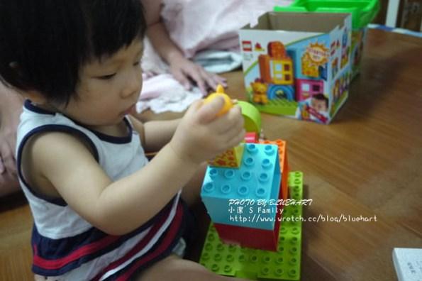 §『1Y4M』妮妮的第一份LEGO積木-LEGO德寶系列§