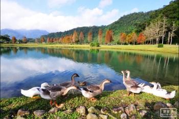 宜蘭最美落羽松秘境 | 員山蜊埤湖福園.IG打卡夢幻景點、宜蘭版雲山水在這裡