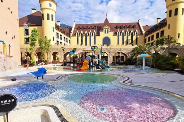 花蓮住宿 瑞穗天合國際觀光酒店,歐風城堡莊園住一晚,超大溫泉親子水樂園等你來玩