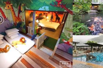 新北市溫泉飯店》大板根森林溫泉酒店,全新親子溜滑梯星空房,漫遊森林遊樂區