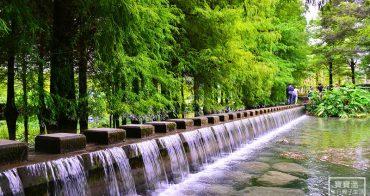 花蓮壽豐景點| 雲山水落羽松秘境. 走在最美的絹絲瀑布步道. 漫步夢幻湖岸