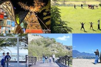 台東兩日遊行程》卑南鄉小鎮漫遊~縱谷海岸一起玩、超美牧場餵牛/護魚區看生態/海景咖啡放空