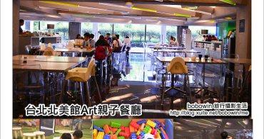 [ 台北中山區 ] Art北美館親子餐廳~塗鴉、積木、木製鐵道好好玩