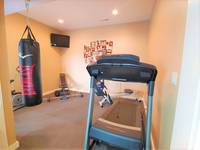 In home gym (use at your own risk)
