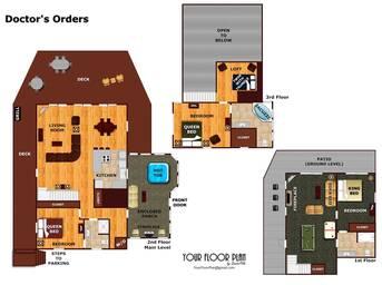 Floor Plan at Livin' Lodge in Sky Harbor TN
