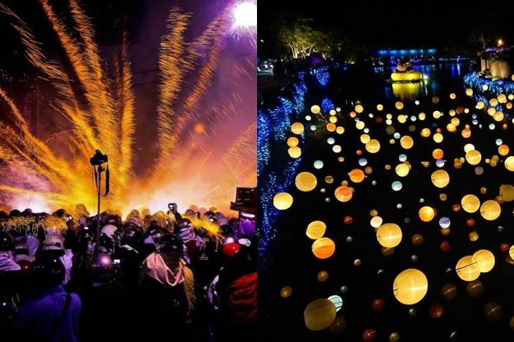 2019 月津港燈節|鹽水蜂炮|遊花海、賞燈會、元宵迎蜂炮一次滿足!