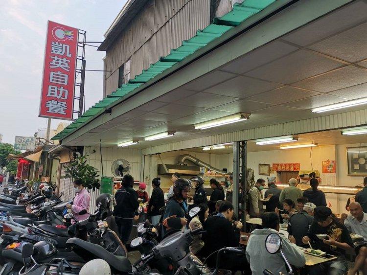 【台南 東區】凱英自助餐。價格極度親民,餵飽甘苦人|佛心便當店