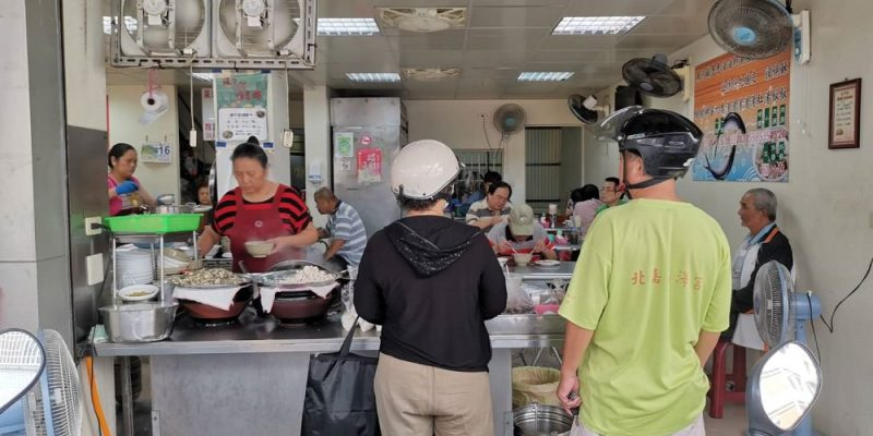 大勇街無名鹹粥。無招牌台式早午餐 虱目魚料理 中西區美食