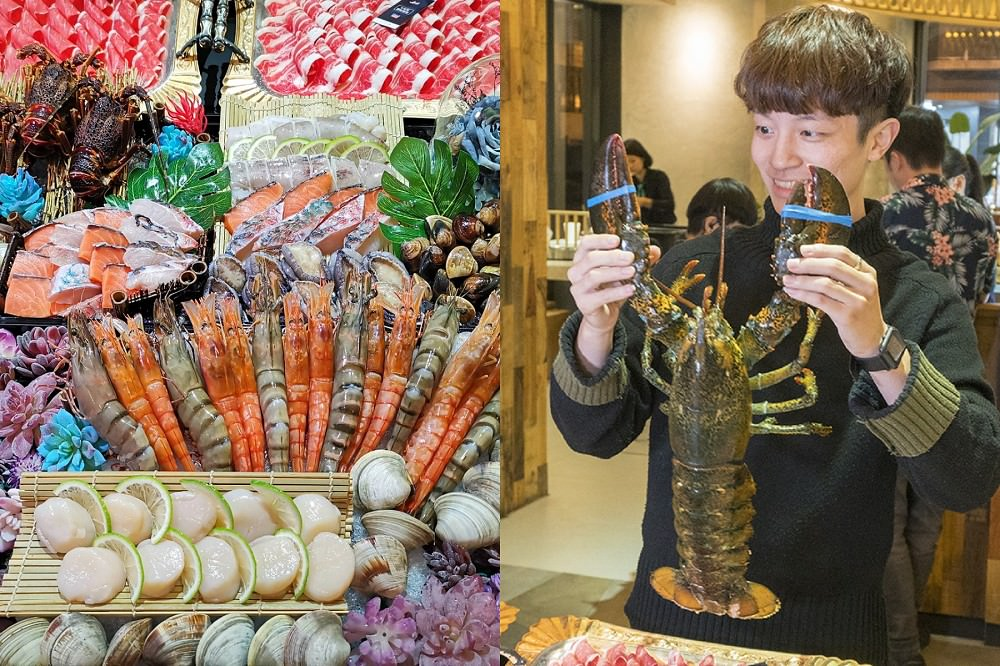 波士頓大戰龍。活體海鮮現場處理|打入凡間的宮廷美食|花花世界鍋物