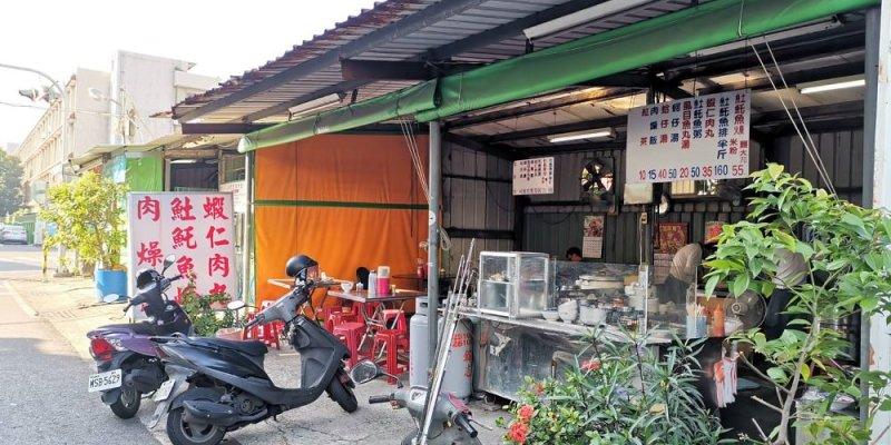 金華市場巷弄中鐵皮屋土魠魚羹蝦仁肉丸 台南觀光城周邊美食