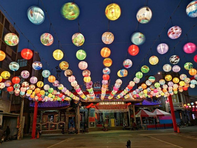 璀璨馬沙溝。台南最有年節氣氛的燈街|2020 台南馬沙溝燈會