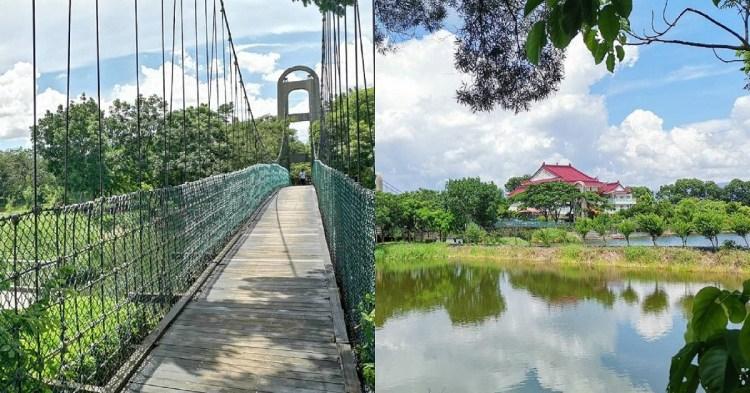 小南海風景區。一間禪寺一座吊橋,湖光水色盡收眼底 小南海普陀寺