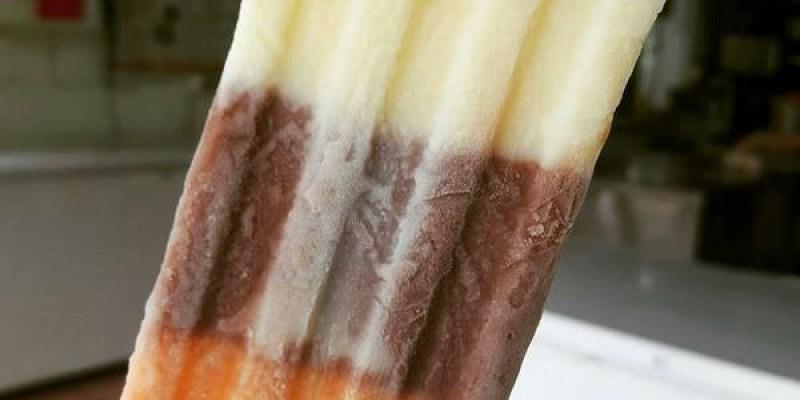 【台南 麻豆】在地經營超過50年的傳統古早味│不添加色素及人工香料│一支冰棒三種滿足│