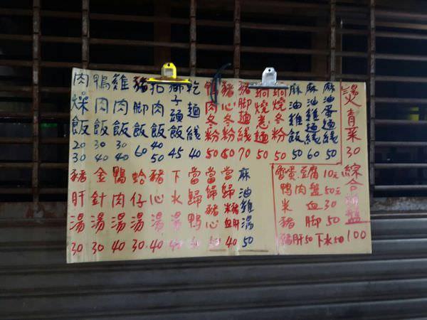 【台南市東區】不起眼的騎樓下路邊攤,賣起古早味的台灣小吃