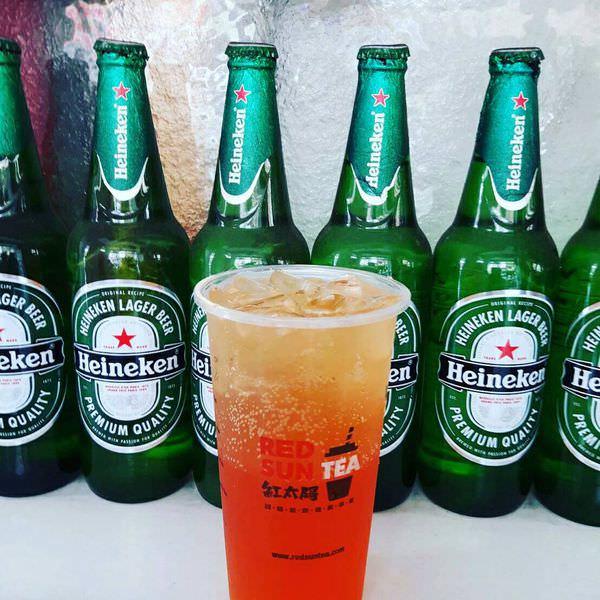綠茶冰涼魅力,加上啤酒與夏天的完美結合│南台灣第一品牌
