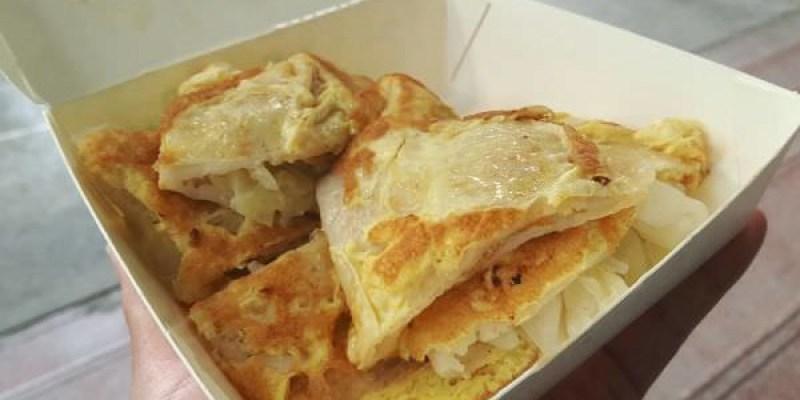 【台南 西港】港明蔬菜大蛋餅PK西港市場古早味蛋餅!