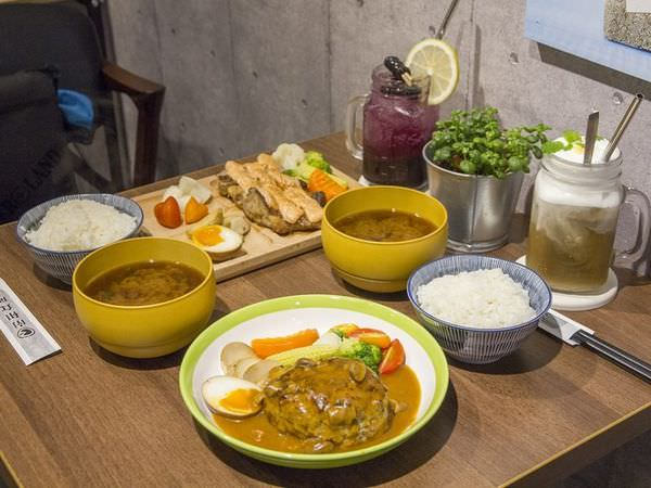 【台南 中西區】南和食所。飽滿多汁的漢堡排,在咀嚼之間瀰漫迷人風采!