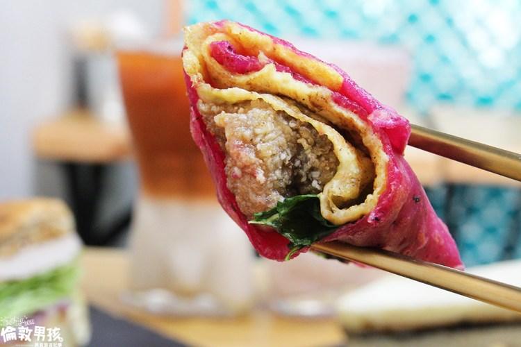 【台南美食】超特別的馬卡龍蛋餅!台南創意早午餐,超盛號烘培手作早食新鮮現做,平價好吃真材實料!