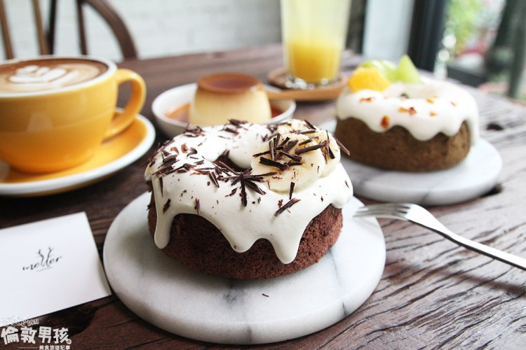 台南下午茶推薦!Meller墨樂咖啡,隱藏版少女心戚風蛋糕,超好拍的文青咖啡店!