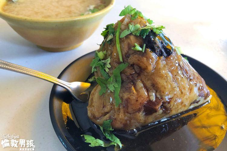 【台南端午粽子】圓環頂肉粽、菜粽專家,就在東門圓環旁!
