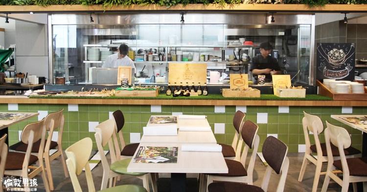 台南聚餐推薦!「好田洋食餐廳」多種西式主餐、自助吧吃到飽,CP值超高!