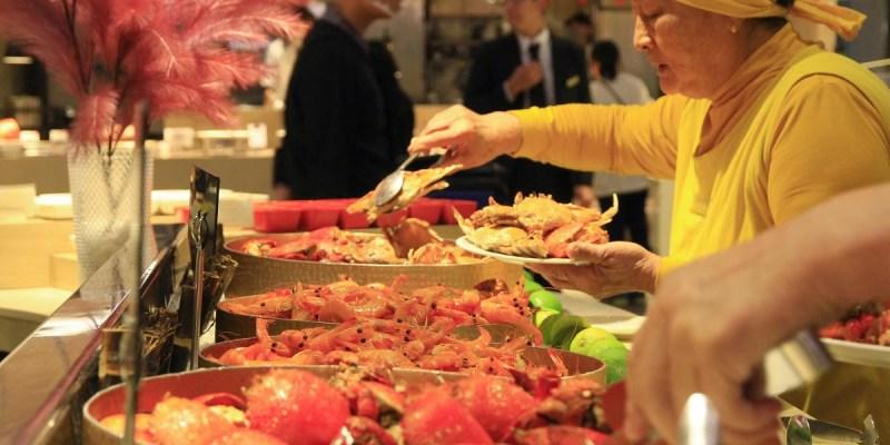 台南超人氣自助餐吃到飽「漢來海港餐廳」,獨家引進世界上最好吃的「美國貝賽斯冰淇淋」~