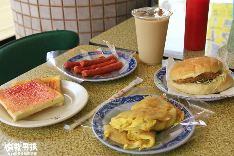 台南限定的在地早餐店~30年老字號「千香麥香雞專賣店」出餐速度超快!
