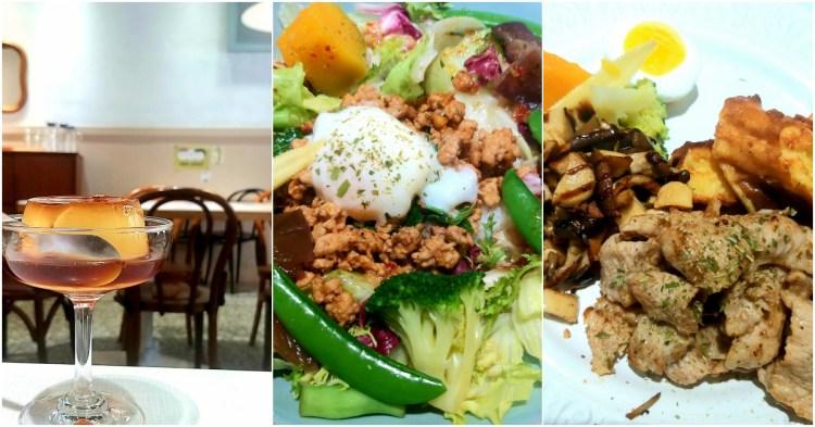 台南新美街推薦美食,新舊交融的老屋餐館「Bon」早午餐、下午茶~