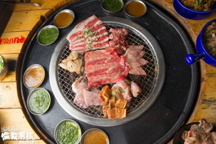 台南超人氣燒肉吃到飽推薦,嚴選燒肉 Mix 泰國水道蝦的「尖叫燒肉」品項超豐富!