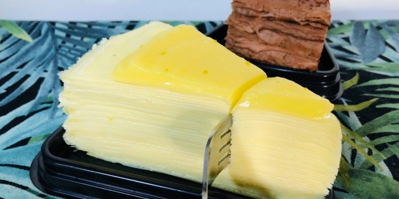 台南超人氣甜點,限時、限量的隱藏版千層蛋糕「ZUZU CREPE」CP 值超高!