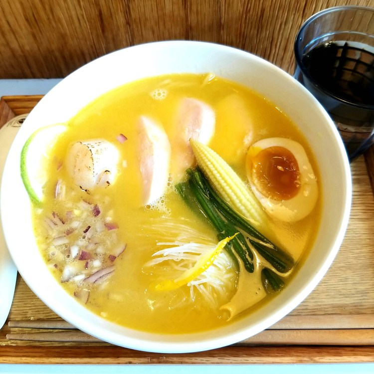 台南 城隍街 白露拉麵 bailu ramen|日系小店|濃厚雞白湯風味系拉麵