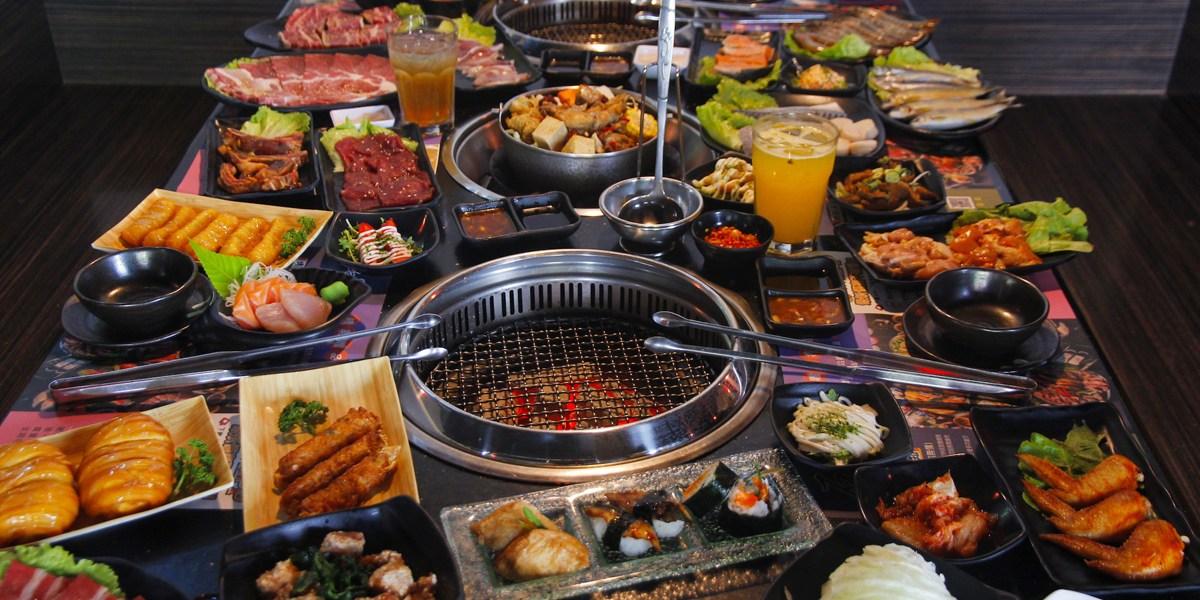 台南吃到飽推薦!燒肉、火鍋的雙重奏,「石頭日式炭火燒肉-永康館」百種美食任君挑選~