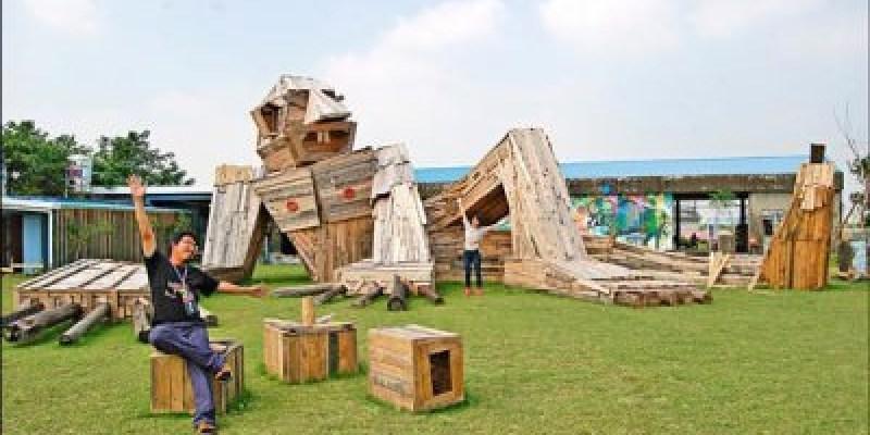 2015土溝農村美術館 在秋收稻田間 看見幾米、進擊的巨農