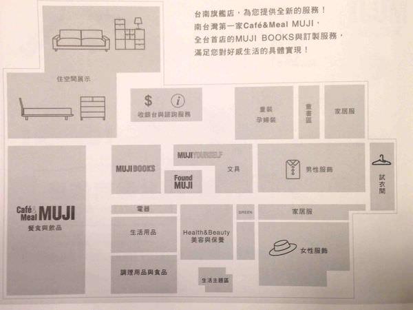 台南新光三越新天地,MUJI台南旗艦店Cafe & Meal+Books+MUJI生活~