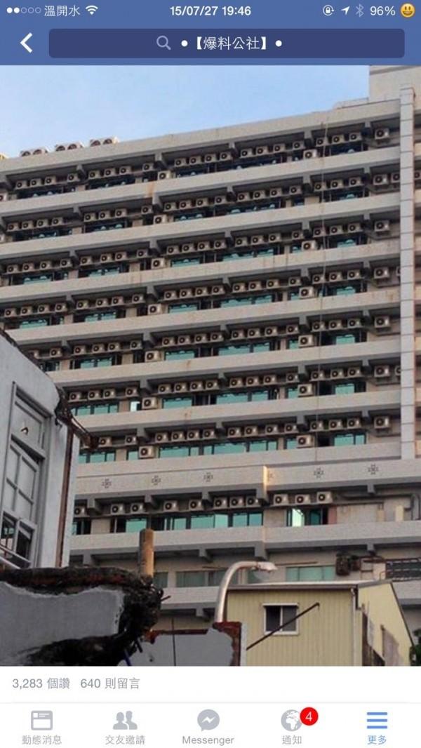 驚人! 南市海安路與民生路口玉山銀行大樓 7~15樓飯店 每層樓竟裝逾20部冷氣