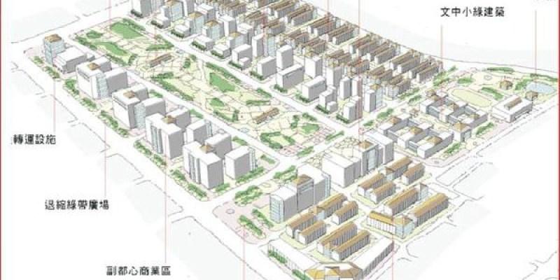 【平實營區、精忠三村開發案】總面積42.4公頃 7公頃中央公園 打造台南曼哈頓 2017年6月完工