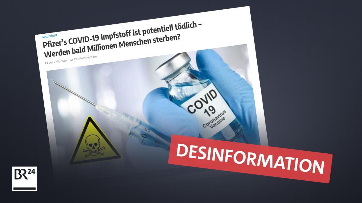 corona impfstoffe behauptungen im